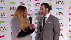 Aidan's interview at the NTAs Sarah Jane Crawford, Aiden Turner, Video Studio, Poldark, Awards, Interview, Youtube, Clothes, Outfits