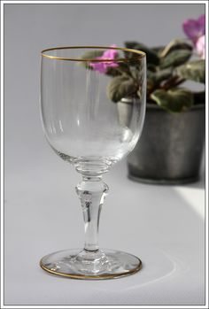 Verre à eau n°2 Baccarat Mahora/Manon neuf - Water glass new