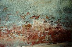 Rock Paintings in Domboshawa National Park Africa Rocks, Zimbabwe Africa, Rhinoceros, Management Company, Prehistory, Art And Architecture, Amazing Places, Painted Rocks, South Africa