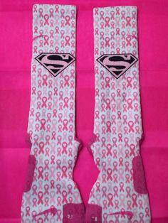 Breast Cancer Awareness Custom Pink Nike Elite by LeagueReady