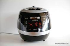 My Korean Kitchen Essential Tools - Cuckoo IH Pressure Rice Cooker   MyKoreanKitchen.com