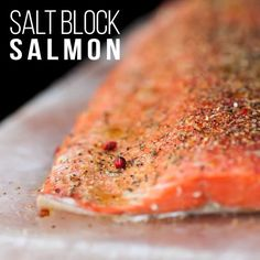 I love my Himalayan salt block! The flavors created by grilling a fresh fillet of quality salmon on this mineral-rich salt block are truly amazing. Sprinkle on a little #PinkPeppercornLemonThyme and I gurrantee there will be no leftovers!  #Spiceologist Pink Peppercorn Lemon Thyme is Au Naturel (no funky stuff!) ✔️Gluten Free No Sugar Low Sodium(last ingredient) Paleo Friendly Vegan Friendly