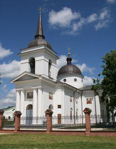 Воскресенська церква – усипальниця гетьмана К. Розумовського в Батурині