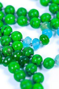 Healing Jewelry Long Beaded Mala Meditation Mala by TaoDesign8