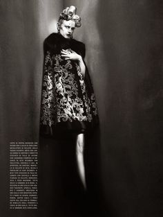 """Dreaming of Dior: """"And High Fashion"""" Saskia De Brauw by Paolo Roversi for Vogue Italia March 2015"""