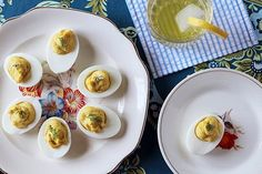 Recipe: Smoked Trout Deviled Eggs — Recipes From The Kitchn Healthy Deviled Eggs, Fried Deviled Eggs, Devilled Eggs Recipe Best, Avocado Deviled Eggs, Bacon Deviled Eggs, Deviled Eggs Recipe, Halloween Deviled Eggs, Thanksgiving Deviled Eggs, Pot Luck