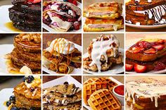 16 Pancakes, Waffles, Crepes, & French Toasts