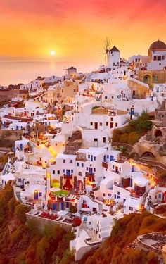 In Santorini, Greece. One day I will travel to this beautiful place. ❤ #greecetravel