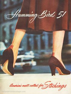 1948  seamed stockings