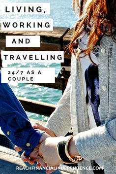 Between living/working and traveling 24/7 as a couple, I would say traveling together is way more difficult. You are out on your comfort zone and you only have each other to rely on.