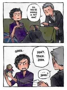 Sherlock and John:-D