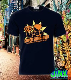 $179.00 Playera o Camiseta Para Gym Vegeta Dragon Ball Super Sayain