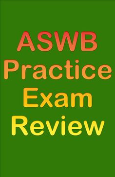 If you're studying for the ASWB exam, be sure to take advantage of this free ASWB practice exam review! #aswb