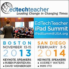 Edtechteacher leadin change in changing times. link to website with many tech tool for teaching.