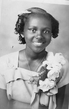 Young Black Girl by Black History Album, via Flickr. This girl is just darling.