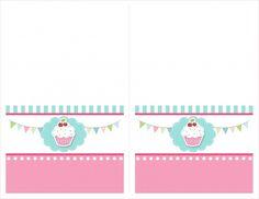 cupcake food cards