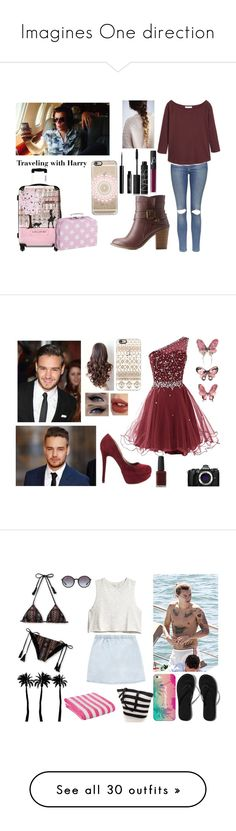 """""""Imagines One direction"""" by beingmyselfaf ❤ liked on Polyvore featuring Topshop, MANGO, Charlotte Russe, NARS Cosmetics, Casetify, Lord & Berry, IKASE, Payne, xO Design and Charlotte Tilbury"""