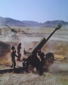 Soviet artillery position in Afghanistan. Pin by Paolo Marzioli