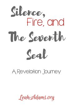In our study of Revelation today, we examine the opening of the 7th seal by Jesus. It precipitates silence, fire and judgment.