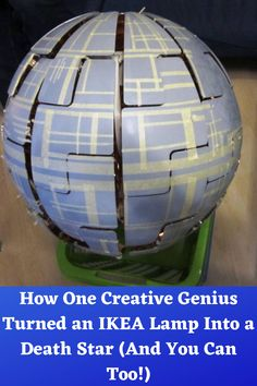 How One Creative Genius Turned an IKEA Lamp Into a Death Star (And You Can Too!) Edgy Nails, Dope Nails, Forarm Tattoos, Rose Tattoos, Bohemian Makeup, Pink Bedroom Walls, Cute Rainy Day Outfits, Orchid Cake, Side Tattoos Women