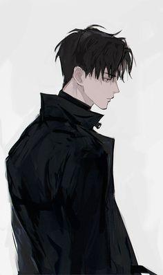 —— - Everything About Anime Anime Boys, Dark Anime Guys, Cool Anime Guys, Handsome Anime Guys, Hot Anime Boy, Manga Boy, Male Manga, Fanarts Anime, Anime Characters