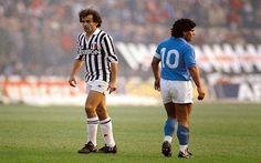 ANGELO AZZURRO - Il dionisiaco e l'apollineo. Maradona - Platini, aspettando Napoli Juventus ~ GolDiTaccoASpillo