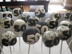 Birthday Cupcakes For Men | Carmen's Edible Creations: 50th Birthday Pops