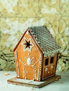 Lebkuchen Kerskoekie-Huis.
