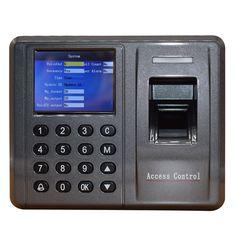TCP/IP USB RS232/485 125khz rfid Fingerprint access control attendance machine