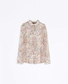 Image 5 of PRINTED BLOUSE from Zara
