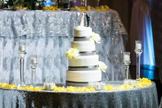 Gray Weddings, Yellow, Grey, Cake, Desserts, Food, Grey Weddings, Ash, Pie Cake