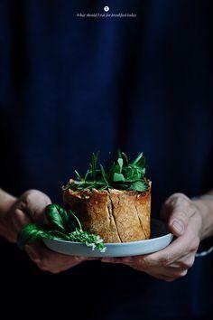 Quiche delicioso con espinacas, setas y hierbas / Marta Greber