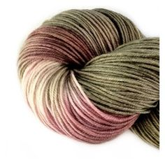 FROM THE ASHES Luster Soft Fingering Wt Hand Painted Merino Wool Sock Yarn by ExpressionFiberArts, $18.95
