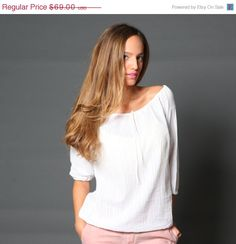 Christmas Sale / Holidays Sale / women classic top by girlishstyle, $58.65
