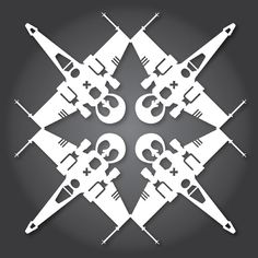 How to Make Star Wars Snowflakes With Paper, Scissors, and the Force | Underwire | WIRED