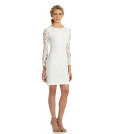 Shop for Belle Badgley Mischka 3/4 Sleeve Foiled Lace Dress at Dillards.com. Visit Dillards.com to find clothing, accessories, shoes, cosmetics & more. The Style of Your Life.