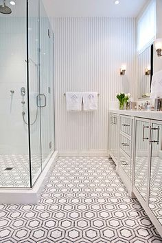 This is about the amount of space I would have if I did vanities opposite shower/tub... too small?