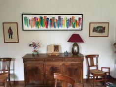 Photos - Galerie Perreault  #Art #homedecor #Artist #Artwork #Artiste #Quebec #abstractart #abstractpainting #Colors #decor Decoration, Buffet, Paintings, Cabinet, Storage, Artwork, Photos, Furniture, Home Decor