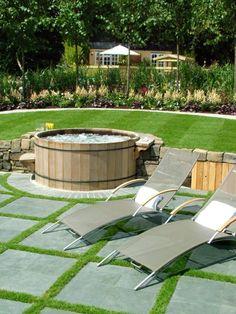 ber ideen zu whirlpools landschaftsbau auf. Black Bedroom Furniture Sets. Home Design Ideas