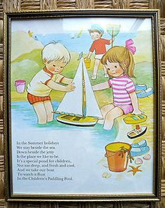 FRAMED MABEL LUCIE ATTWELL PRINTBOOK PICTURE