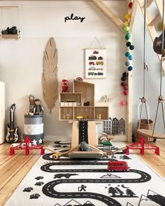 Kids Room Ideas for Kids Bedroom Design and Decoration Kids Bedroom Designs, Kids Room Design, Playroom Decor, Kids Decor, Playroom Ideas, Decor Ideas, Miniature Rooms, Kid Spaces, Boy Room