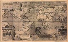 Mapas antiguos del Mundo 1