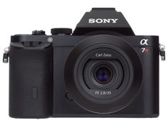The Sony Alpha 7R is a full-frame mirrorless camera with an amazing 36-megapixel image sensor. It's not quite as fast to shoot as its twin sibling, the Alpha 7, but its image quality earns it our Editors' Choice award. [4.5 out of 5 stars]