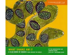 Second grade students at Conservatory Lab Charter School created this book during an in-depth study on snakes.  During this exhibition, the students cared for Lily, an albino corn snake, in their classroom. This opportunity allowed students to study a live snake, and for the students to conquer any fear they might have of snakes. Also, as part of their research for this project, the students visited the Harvard Museum of Comparative Zoology to conduct fieldwork.