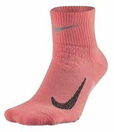 Nike Unisex Spark Cushion Quarter Running Socks Orange/Black Size 8-9.5 SX546... #Nike Dri Fit Socks, Nike Socks, Crew Socks, Running Socks, Nike Running, Black Cushions, Nike Models, Gym Training, Black 7