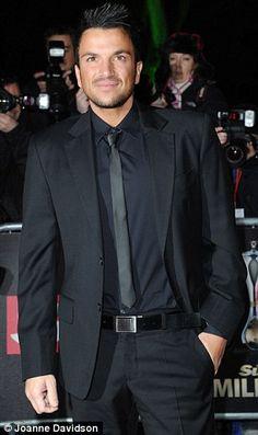 Australian singer Peter Andre