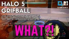 Halo 5 Grifball - Best COMEBACK ever!!!