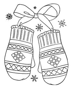 Winter coloring pages – Winter Mittens 12 Make your world more colorful with free printable coloring pages from italks. Our free coloring pages for adults and kids. Coloring Pages Winter, Printable Christmas Coloring Pages, Preschool Coloring Pages, Coloring Pages To Print, Animal Coloring Pages, Free Printable Coloring Pages, Coloring Book Pages, Coloring Pages For Kids, Kids Coloring