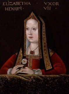 Elizabeth of York - Mother of Henry VIII