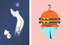 Illustrators, Graphic Design, Detail, Life, Illustrations, Visual Communication